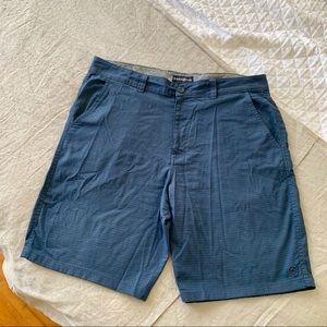 Men's Hang Ten Subtle Blue Striped Shorts